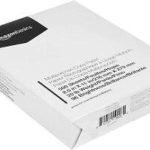 Amazon Basics Multipurpose Copy Printer Paper (500 Sheets)